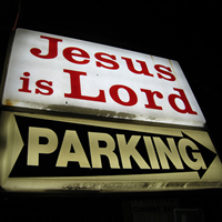 Jesus is Lord Parking