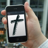 smart phone in church Online Church Is Great, But Its Not Enough