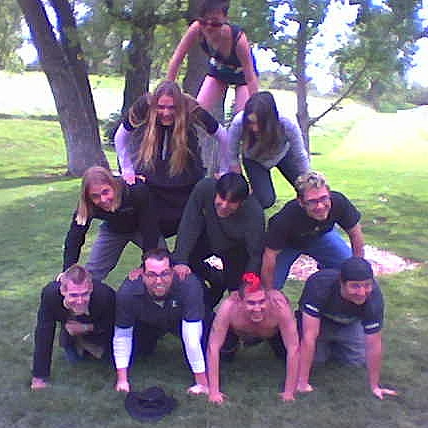 human pyramid How to Find, Train and Build a Great Small Church Leadership Team