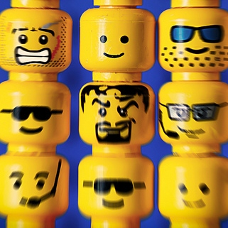 lego heads Some Advantages and Challenges of Building Your Own Small Church Leadership Team